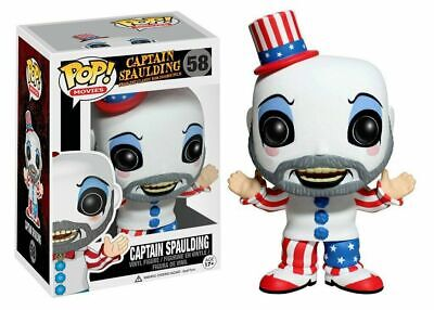 New Funko pop Movies Captain Spaulding 58 Action Vinyl Figure Anime In Box Gift