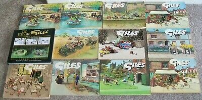 Vintage GILES Books x12 assorted lot