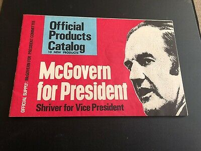 George McGovern campaign products catalog