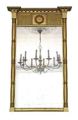 Antique quality Regency gilt overmantle or wall mirror C1830