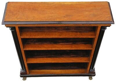 Antique quality Regency Victorian C1820-50 adjustable bookcase