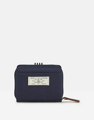 Joules Womens Coast Foldover Purse - FRENCH NAVY in One Size