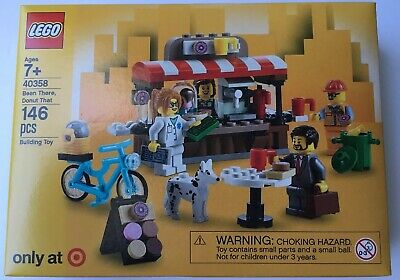 Donut That TARGET EXCLUSIVE 2018 HARD TO FIND LEGO 40358 Bean There