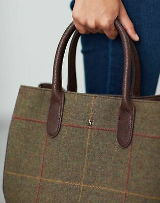 Joules Womens Thernwell Tweed 30Th Anniversary Grab Bag in MR TOAD in One Size