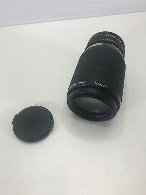 Canon Zoom Lens FD 75-200mm 1: 4.5  Made in Japan  EXCELLENT CONDITION