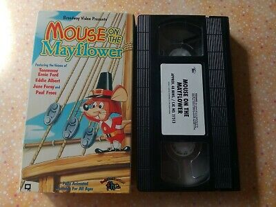 Mouse on the Mayflower (VHS, 1993)VG