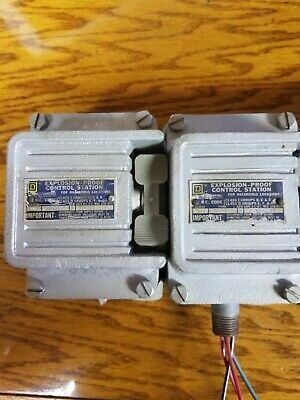 START//STOP AKRON ELECTRIC  XPDBL-FGERC  DUAL EXPLOSION-PROOF SWITCH xhdpb