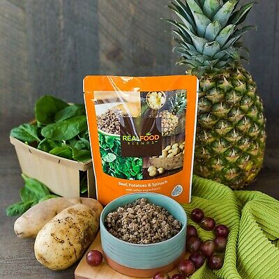 Real Food Blends Beef, Potatoes & Spinach 12 pouches