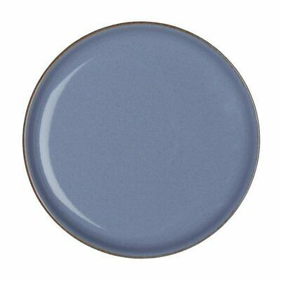 4x Denby Heritage Round Coupe Plate 210mm Fountain Blue Crockery Dinner