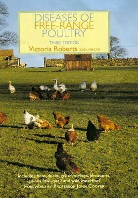 Diseases of Free Range Poultry by Victoria Roberts Hardback Book The Cheap Fast
