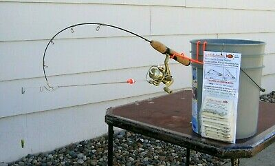 Winter Special Ice Fishing Tip Ups 3 Quickset Hook Setters for $10