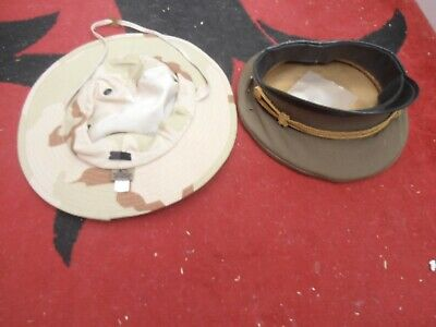 CAMBODIAN/ VIET NAM PEOPLES ARMY FORCES CAP AND desert pat. CAP new ITEMS
