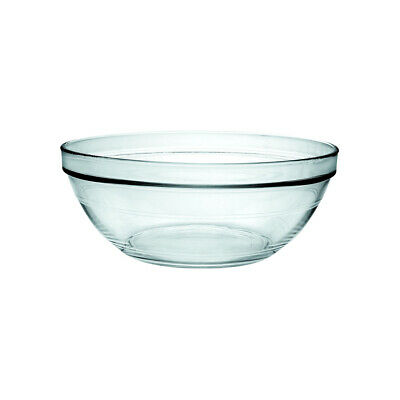 4x Glass Bowl 60mm 36ml Duralex Lys Toughened Glass Stackable Sauce EXTRA SMALL