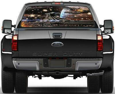 Distressed Star Wars Imperial Order Decal Sticker x2 for Jeep 4X4 Truck SUV Car