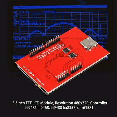 "Red 3.5"" inch TFT LCD Touch Screen Display Module 480X320 for Arduino Mega2560"