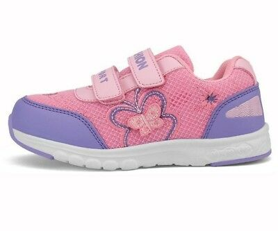 Girls Sneakers Girls Running Shoes Children Sports Shoes Breathable 4-12 Years