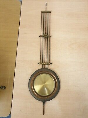 Antique Vienna Wall Clock  Pendulum