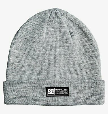 Cappellino Berretto DCSHOES Label Neutral Grey Heather Grigio Melange Unisex