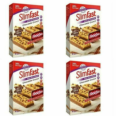 16 SlimFast Meal Replacement Bar Slim Fast Bars Diet Weight Loss Snacks Meals