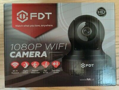 2.0 Megapixel FDT FD8901W 1080P HD WiFi IP Camera Indoor Wireless Security Cam