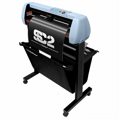 """USCutter SC2 Vinyl Cutter Plotter and Stand w/ Catch Basket, 28""""/34"""", PC or Mac"""