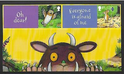Great Britain 2019 The Gruffalo. 2 Stamps From Bottom Of The Sheet Unmounted