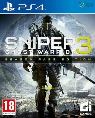 Sniper Ghost Warrior 3 Season Pass Edition PS4 * NEW SEALED PAL *