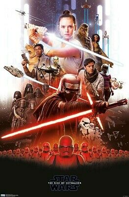 STAR WARS - RISE OF SKYWALKER - COLLAGE POSTER - 22x34 - MOVIE 17634