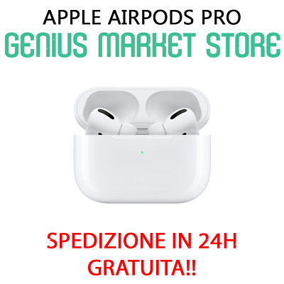 Apple Airpods Pro 2019 Wireless True Cuffie Siri Bianche (Mwp22Ty/A) Ultimo