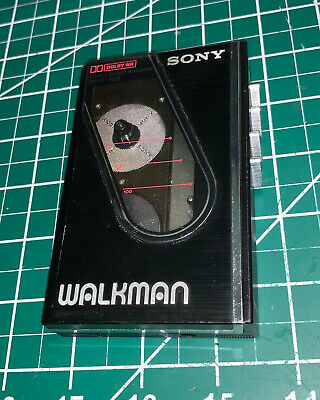 Sony Stereo Cassette Walkman Player WM-10II Black Japan RARE Excellent