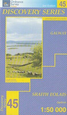 Galway (Irish Discovery Maps Series... by Ordnance Survey Irel Sheet map, folded