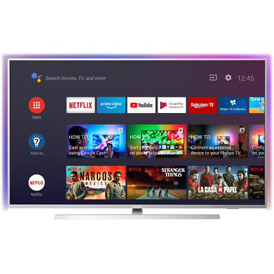 Philips TPVision 43PUS7334 The One 43 Inch TV Smart 4K Ultra HD Ambilight LED