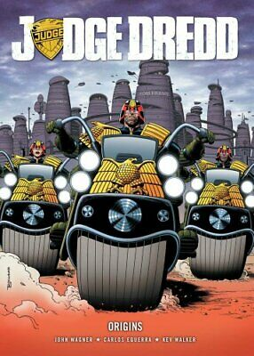 Judge Dredd: Origins by Wagner, John Book The Fast Free Shipping