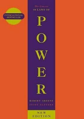 The Concise 48 Laws Of Power by Robert Greene 9781861974044 | Brand New