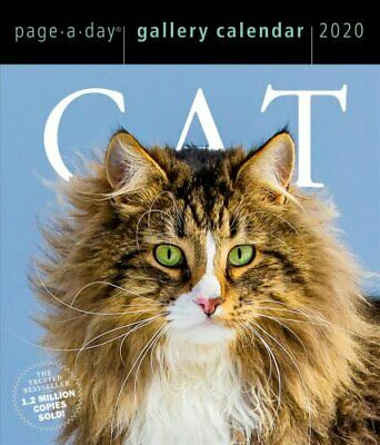 2020 Cat Page-A-Day Gallery Calendar by Workman Publishing 9781523506422
