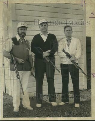 1973 Press Photo Champions at The 24th Spring Fiesta Open Skeet Shoot