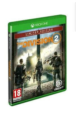 Tom Clancy's The Division 2 - (Xbox One, 2019) LIMITED EDITION **SEALED**