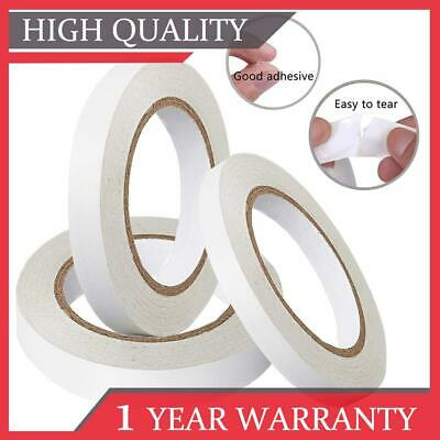25M Double Sided Clear Sticky Tape Diy Strong Craft Adhesive 6Mm 12Mm 24Mm Uk