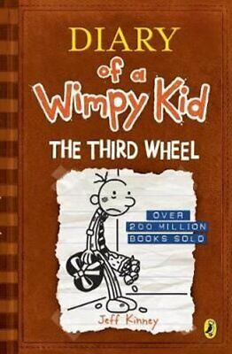Diary of a Wimpy Kid: The Third Wheel (Book 7) by Jeff Kinney 9780141345741