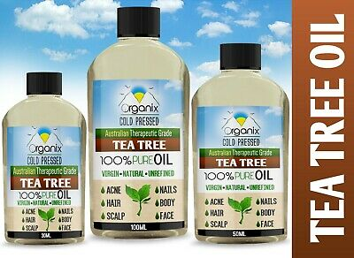 Australian TEA TREE essential oil 100%Pure Organic Certified & Natural UK Seller