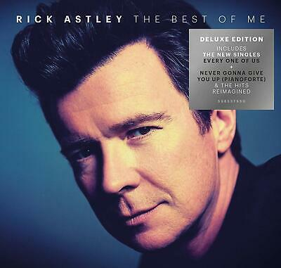 RICK ASTLEY The Best Of Me 2xCD Deluxe Edition NEW .cp