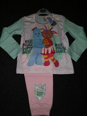 Girls Toddler Official In the Night Garden PJs Iggle Piggle Pjs Age 3-4 Years