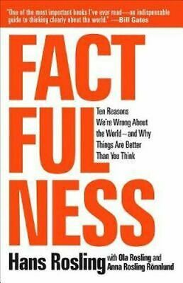 NEW Factfulness By Hans Rosling Hardcover Free Shipping