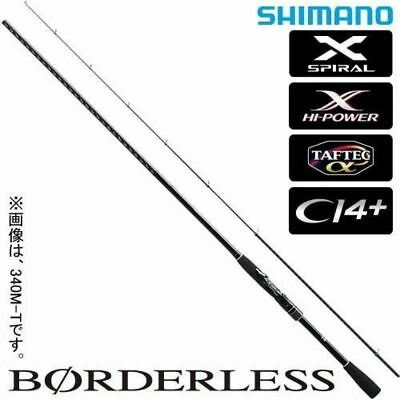Shimano Spinning Rod Borderless Solid Tip Model Iso 300MLS-T 3.0m EMS From Japan