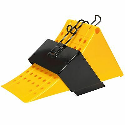 Sealey HGV Wheel Chock with Bracket Single - CV127