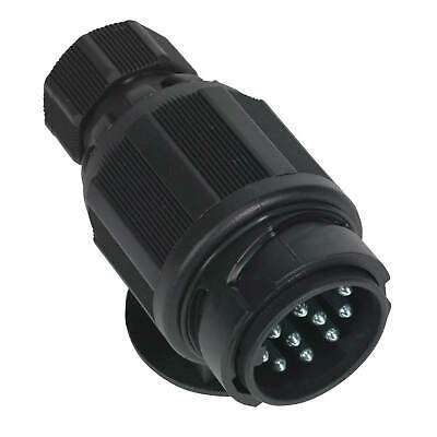 Sealey Towing Plug 13-Pin Euro Plastic 12V Twin Inlet - TB54