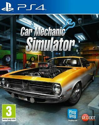 Car Mechanic Simulator PS4 * NEW SEALED PAL *