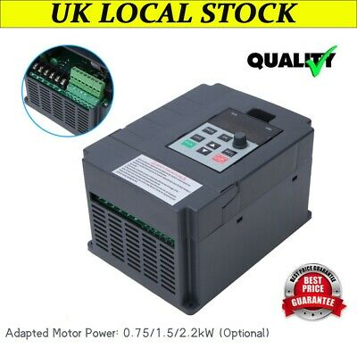 Mini 2.2kw Single To 3 Phase Motor Variable Frequency Drive Inverter Converter