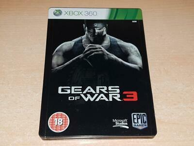 Gears of War 3 Xbox 360 Limited Steelbook Edition PAL **PLAYABLE ON XBOX ONE**