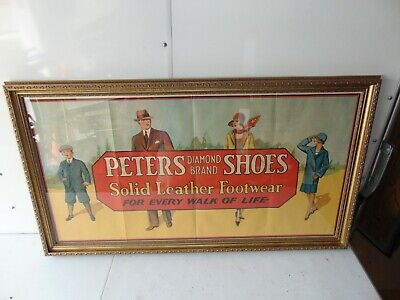 Beautiful Peter's Shoes Original Poster Framed